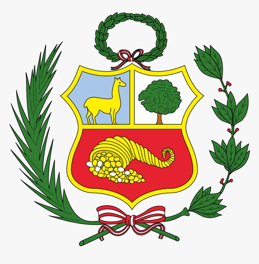 Escudo Perú Logo Vector - Flag Of Peru, HD Png Download, Free Download