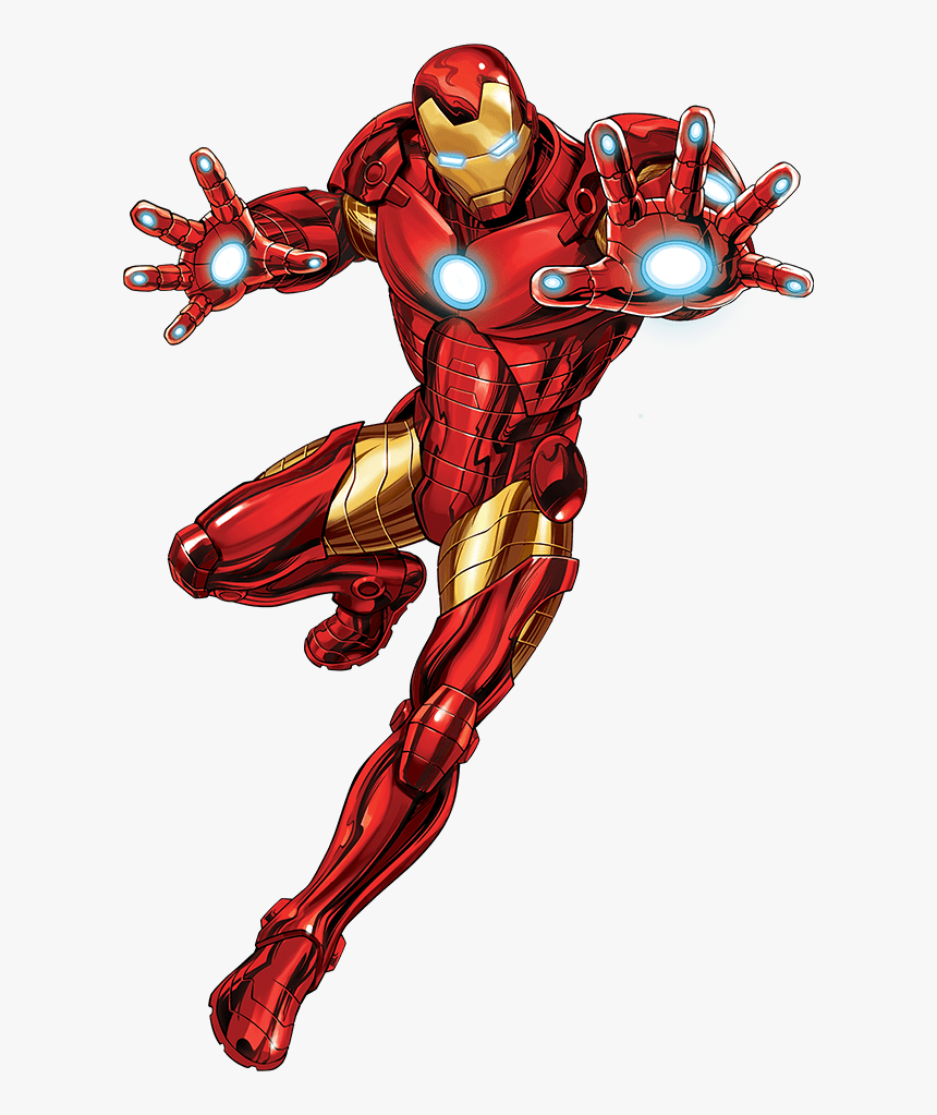 Iron Man Png -iron Man Caricatura Png - Iron Man Cartoon Avengers, Transparent Png, Free Download