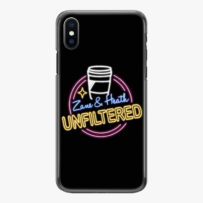 """Zane And Heath Official Unfiltered Phone Case""""  Class=""""lazyload - Iphone, HD Png Download, Free Download"""