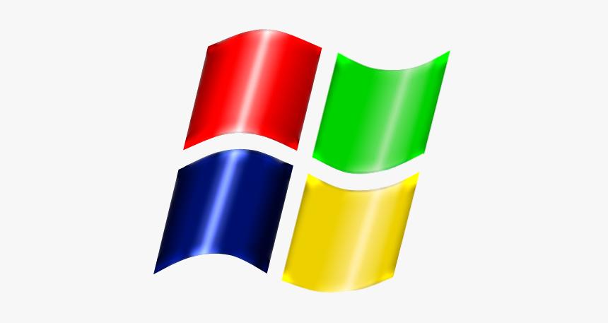 Glossy Windows Xp Logo By Arrow - Windows Xp, HD Png Download, Free Download