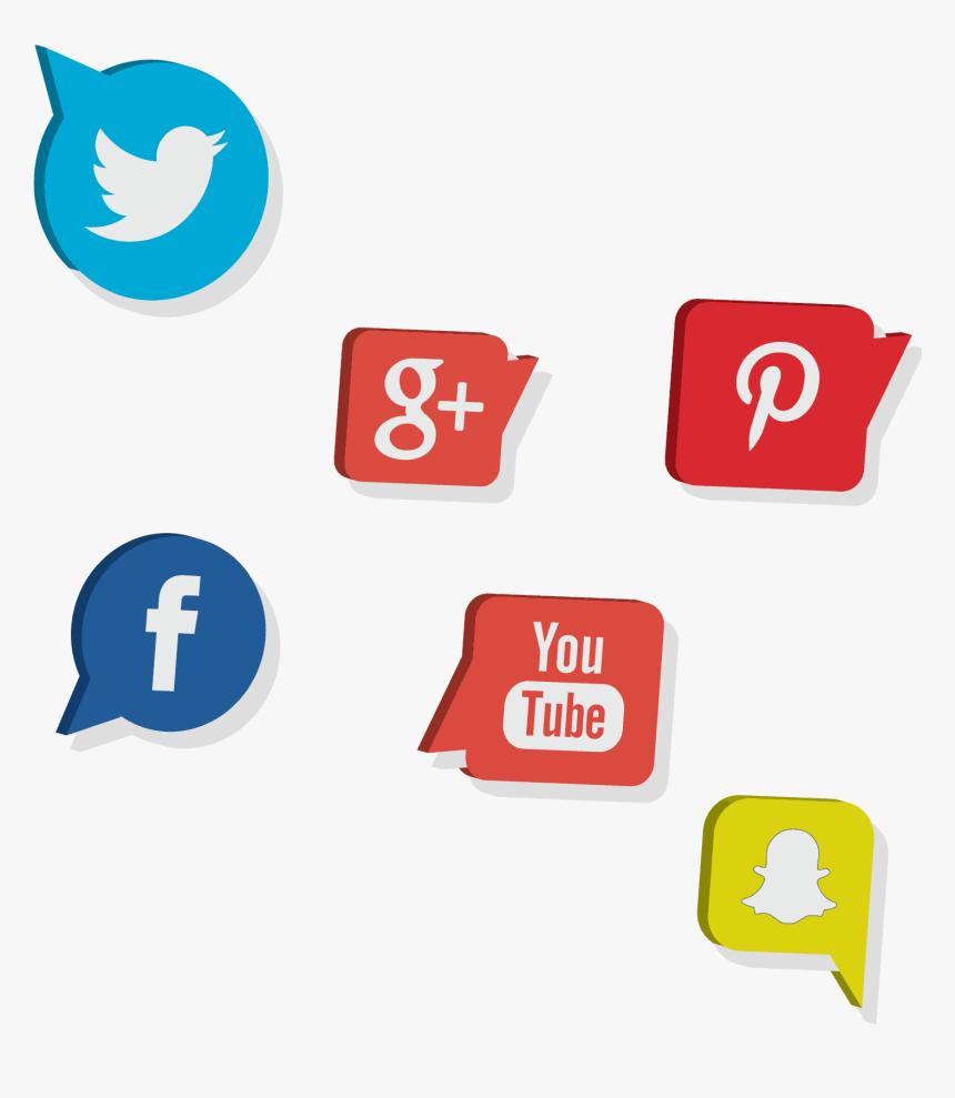 Social Media Marketing Icons - Social Media Marketing Icones Png, Transparent Png, Free Download