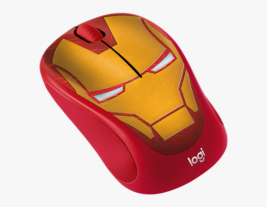 Disney Marvel Collection - Logitech M238 Marvel Collection Wireless Mouse Ironman, HD Png Download, Free Download