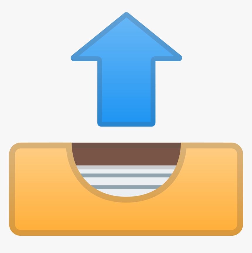 Outbox Tray Icon - Cross Arrow Icon Png, Transparent Png, Free Download