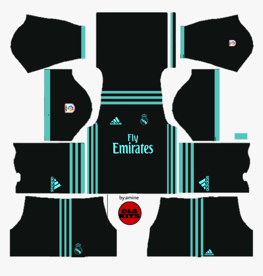 Dls 19 Kits Real Madrid Hd Png Download Kindpng