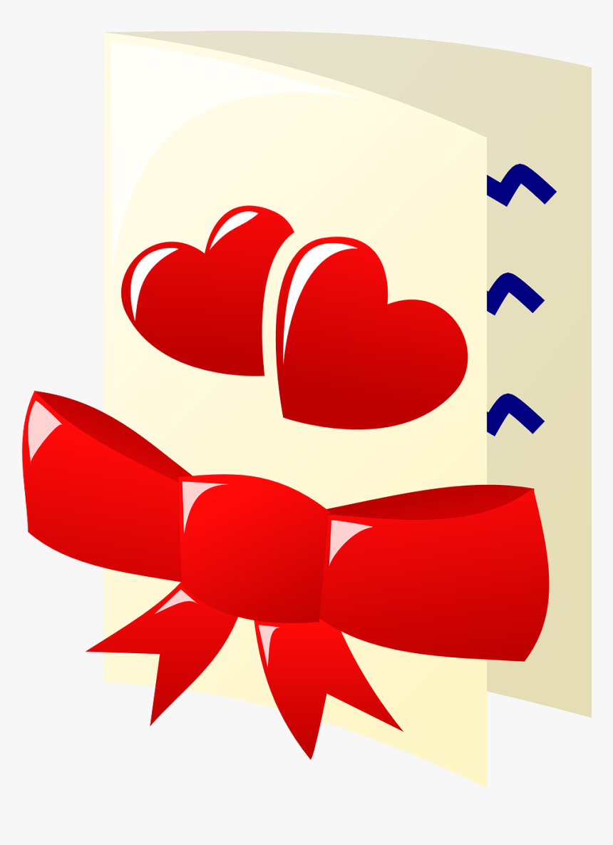 Valentines Card Clipart Png, Transparent Png, Free Download