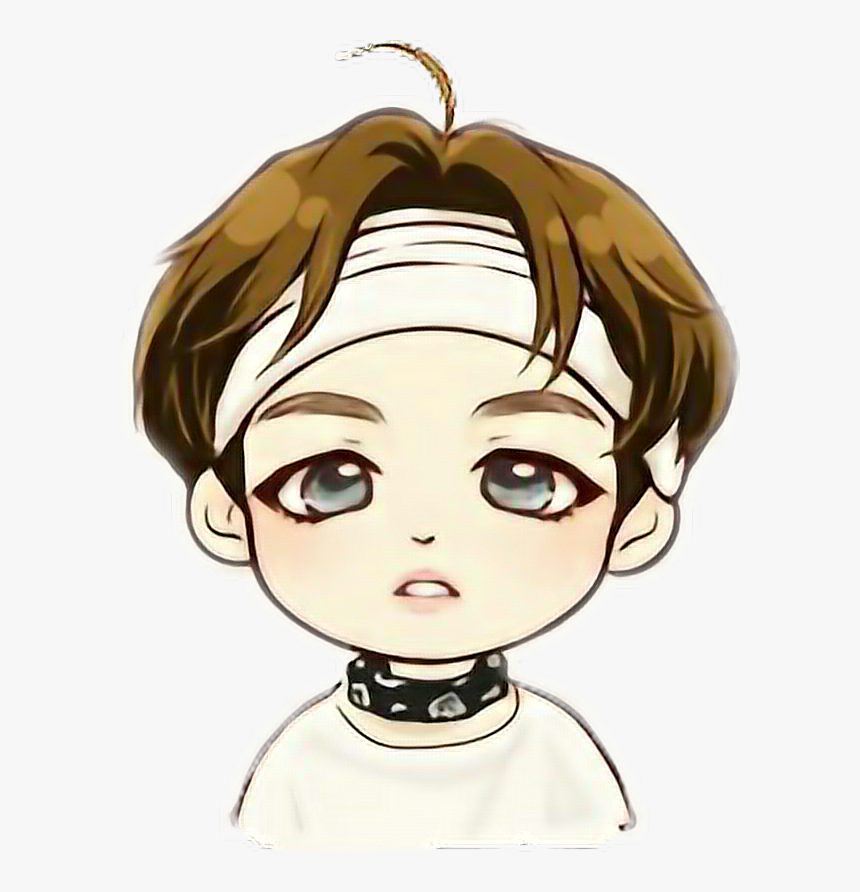 368 3682148 bts v chibi drawing hd png download