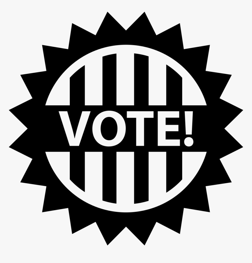 Vote Vote Clip Art Black And White Hd Png Download Kindpng