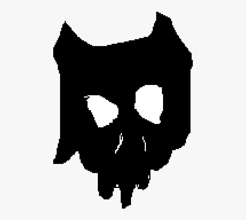 Ink Demon Skull - Minecraft Skin, HD Png Download, Free Download
