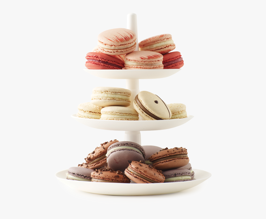 Assorted 3-tiers Plate - Macarons Gifts Png, Transparent Png, Free Download