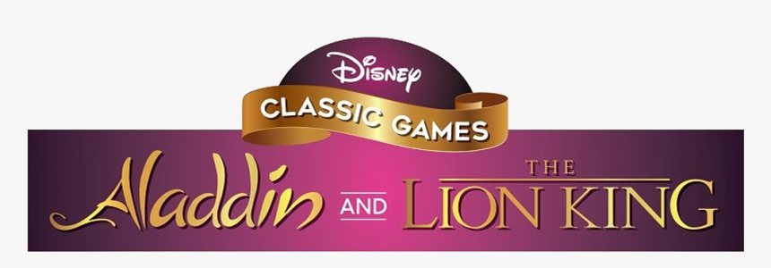 Disney Classic Games Aladdin And The Lion King Logo, HD Png Download, Free Download