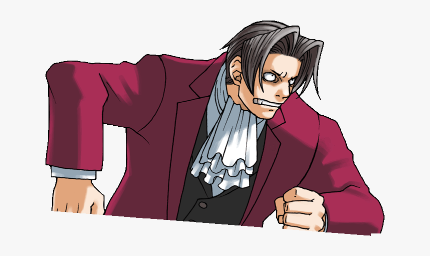 Sticker Other Ace Attorney Benjamin Hunter Reiji Mitsurugi Ace