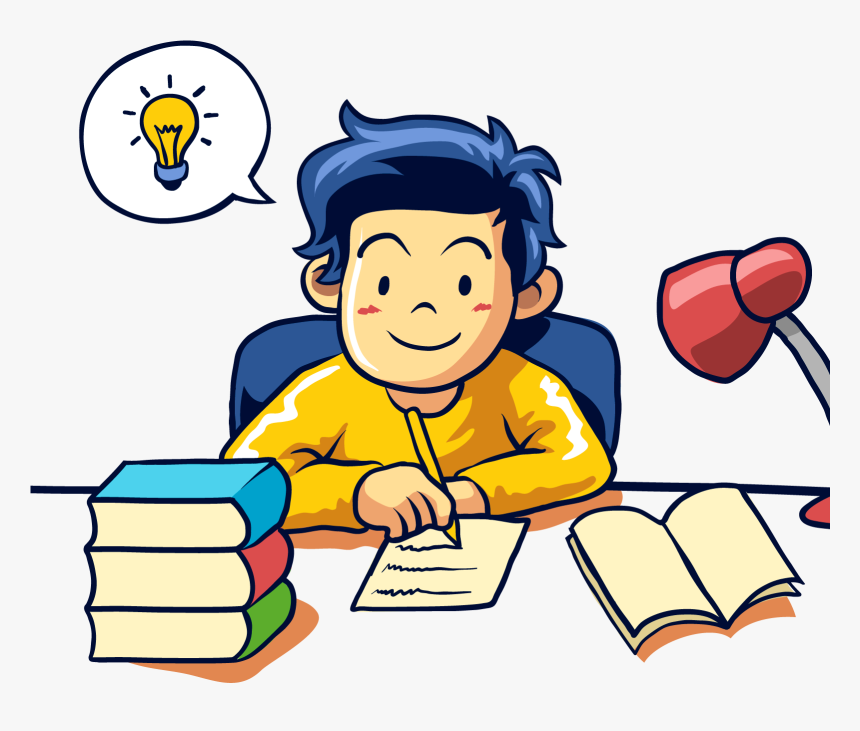 Student Learning Writing - Learning Clip Art, HD Png Download - kindpng