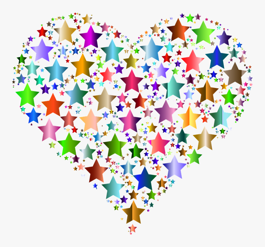 Free Image On Pixabay - Hearts And Stars Clipart, HD Png Download, Free Download