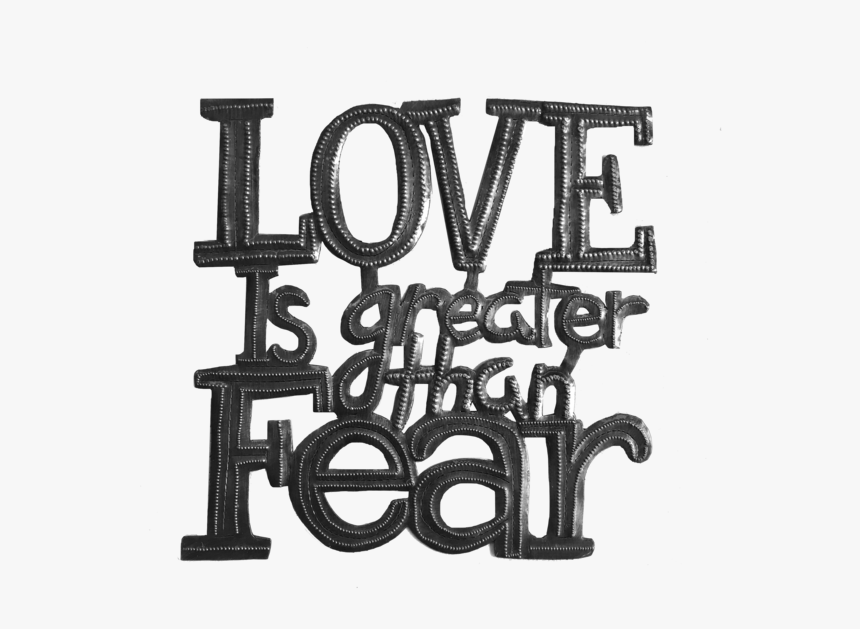 """Love Is Greater Sm""""  Class= - Monochrome, HD Png Download, Free Download"""