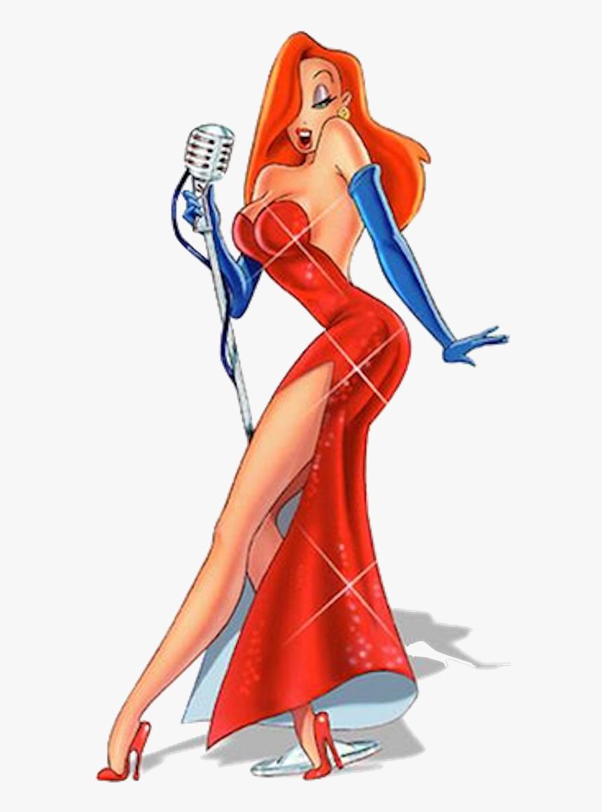 Sexy Jessica Rabbit Cartoon