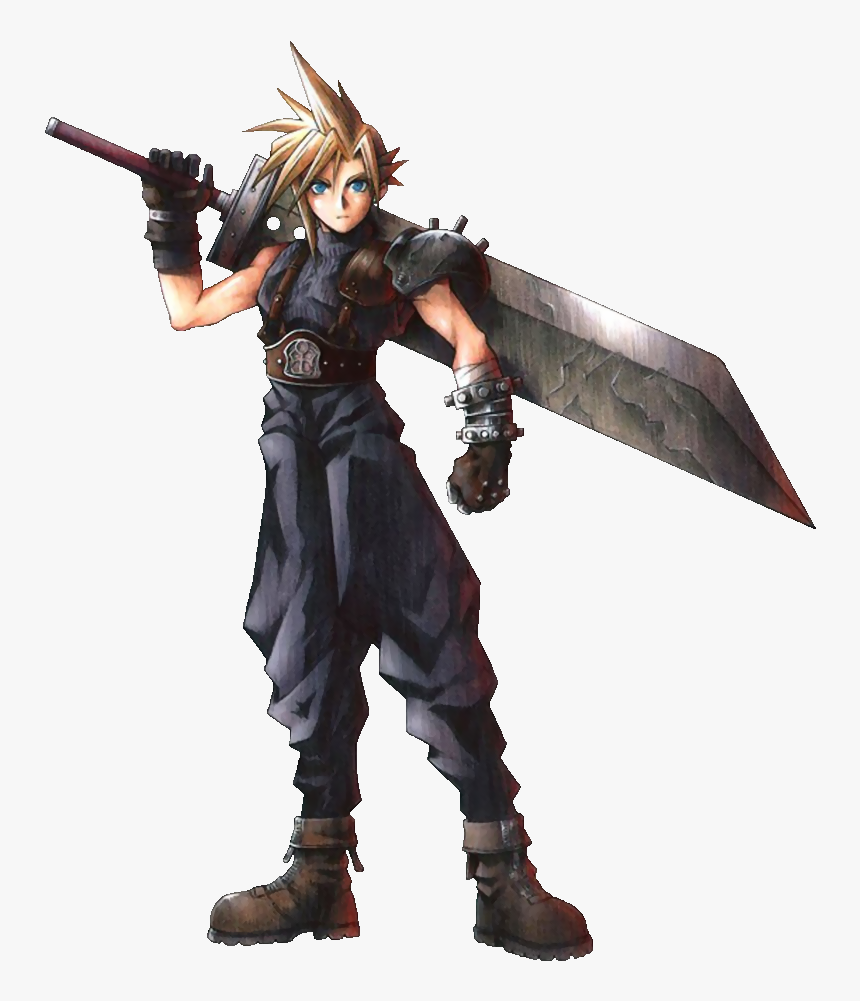Character Profile Wikia - Cloud Strife Ff7, HD Png Download, Free Download