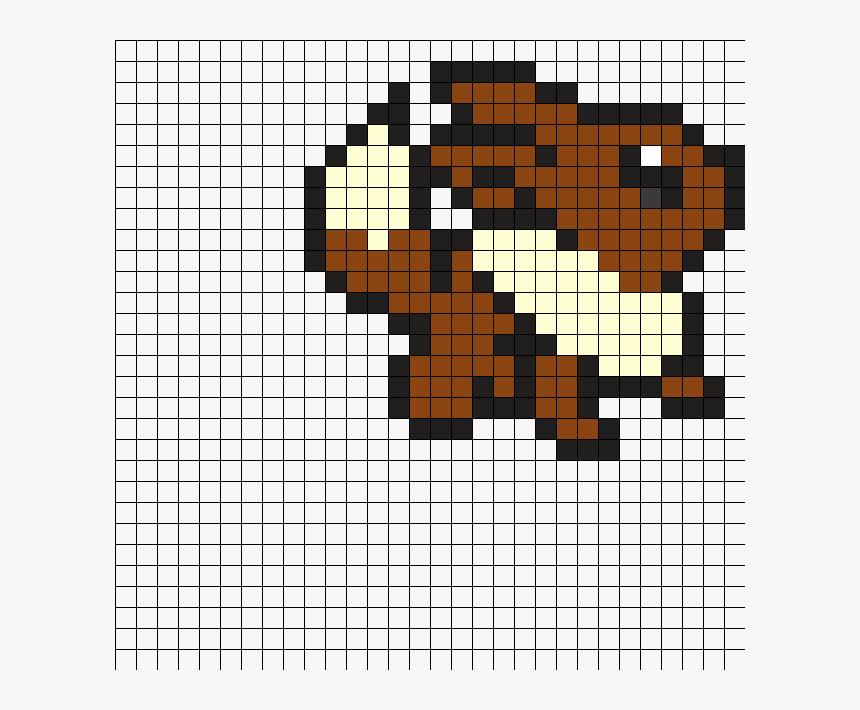 Eevee Pokemon Pixel Art Mudkip Hd Png Download Kindpng