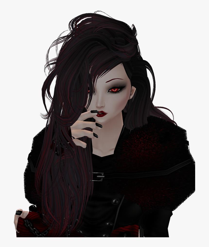 Transparent Cute Vampire Clipart - Cute Vampire Girl Drawing, HD Png Download, Free Download