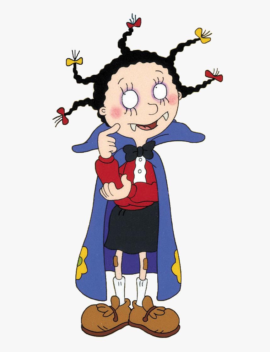 Cartoon Vampire Girl - Mona The Vampire Costume, HD Png Download, Free Download