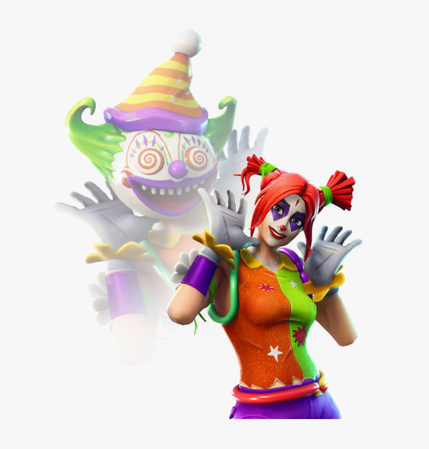 41 Clown Girl Fortnite Skin Leaks - Clown Skin Fortnite, HD Png Download, Free Download