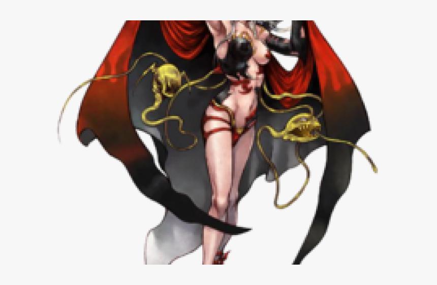 Vampire Clipart Cute Girl - Dissidia Final Fantasy Concept Art, HD Png Download, Free Download