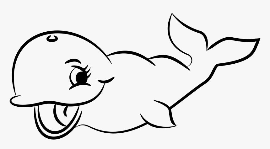 Transparent Whale Silhouette Png Gambar Ikan Hitam Putih Png