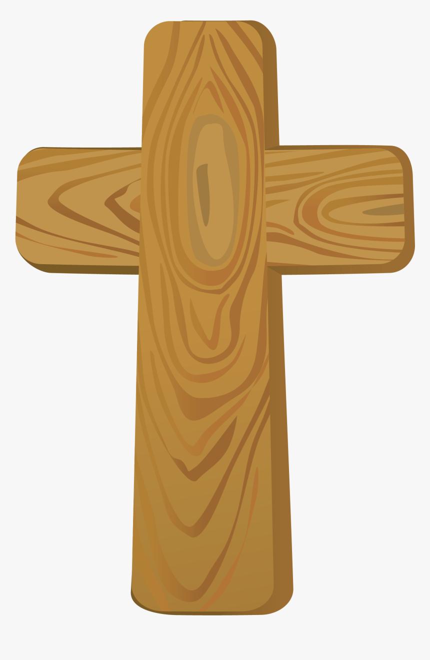 Cross Clip Art - Wooden Cross Clip Art, HD Png Download, Free Download