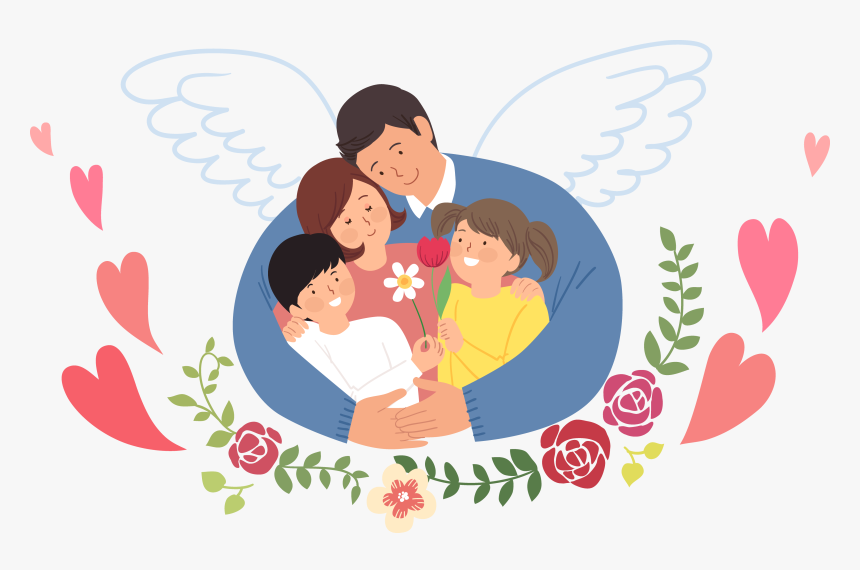 Transparent Family Love Png - Family Loving Each Other Clipart, Png Download, Free Download