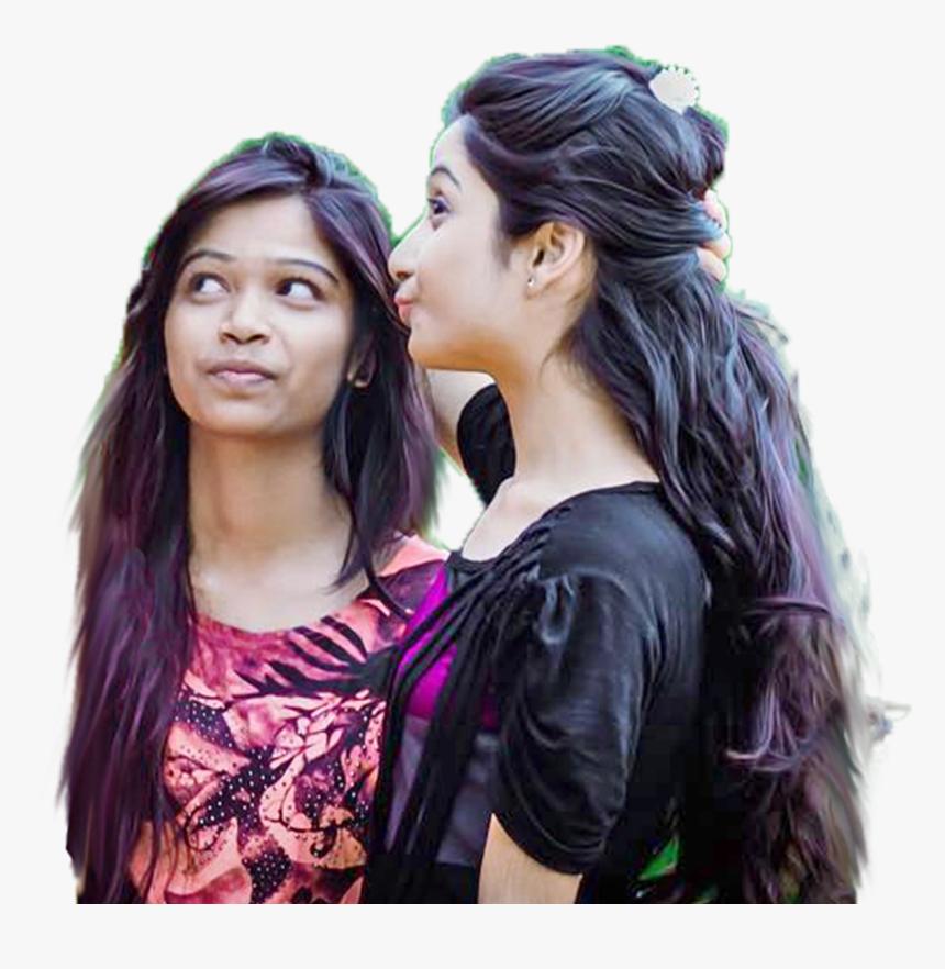 Girl Transparent Background Png - Selfie Cb Edit Background, Png Download, Free Download