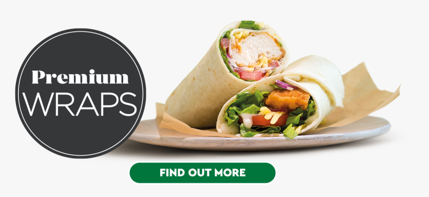 Premium Wraps - Sandwich Wrap, HD Png Download, Free Download