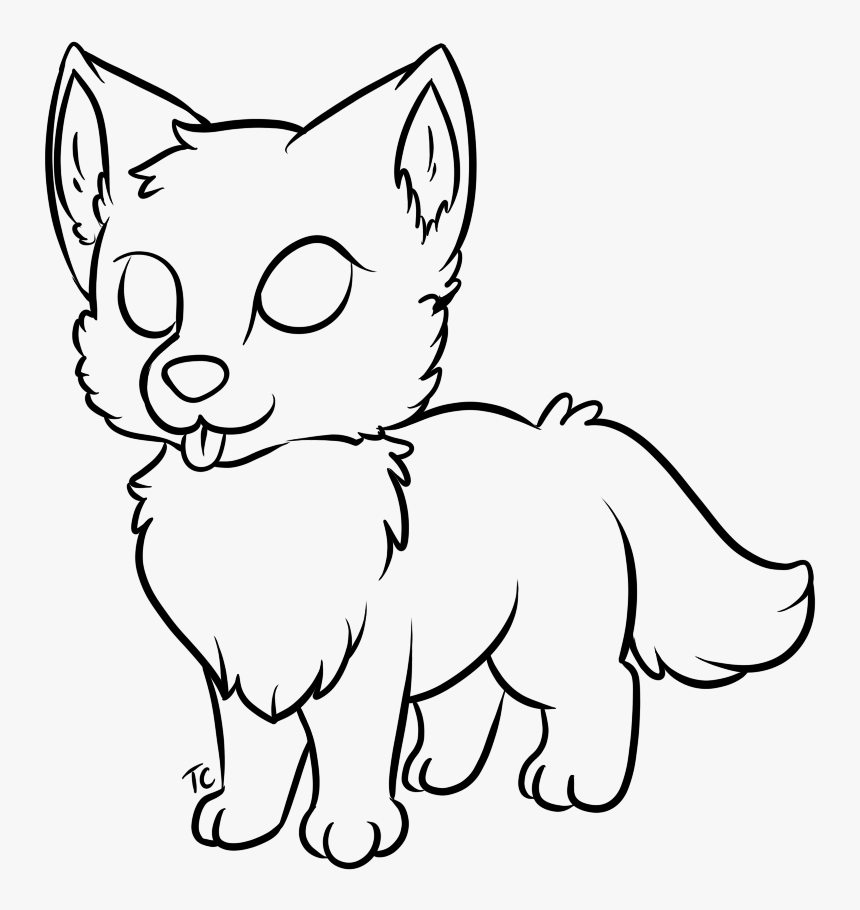 Drawing Werewolf Baby Transparent Png Clipart Free - Easy ...