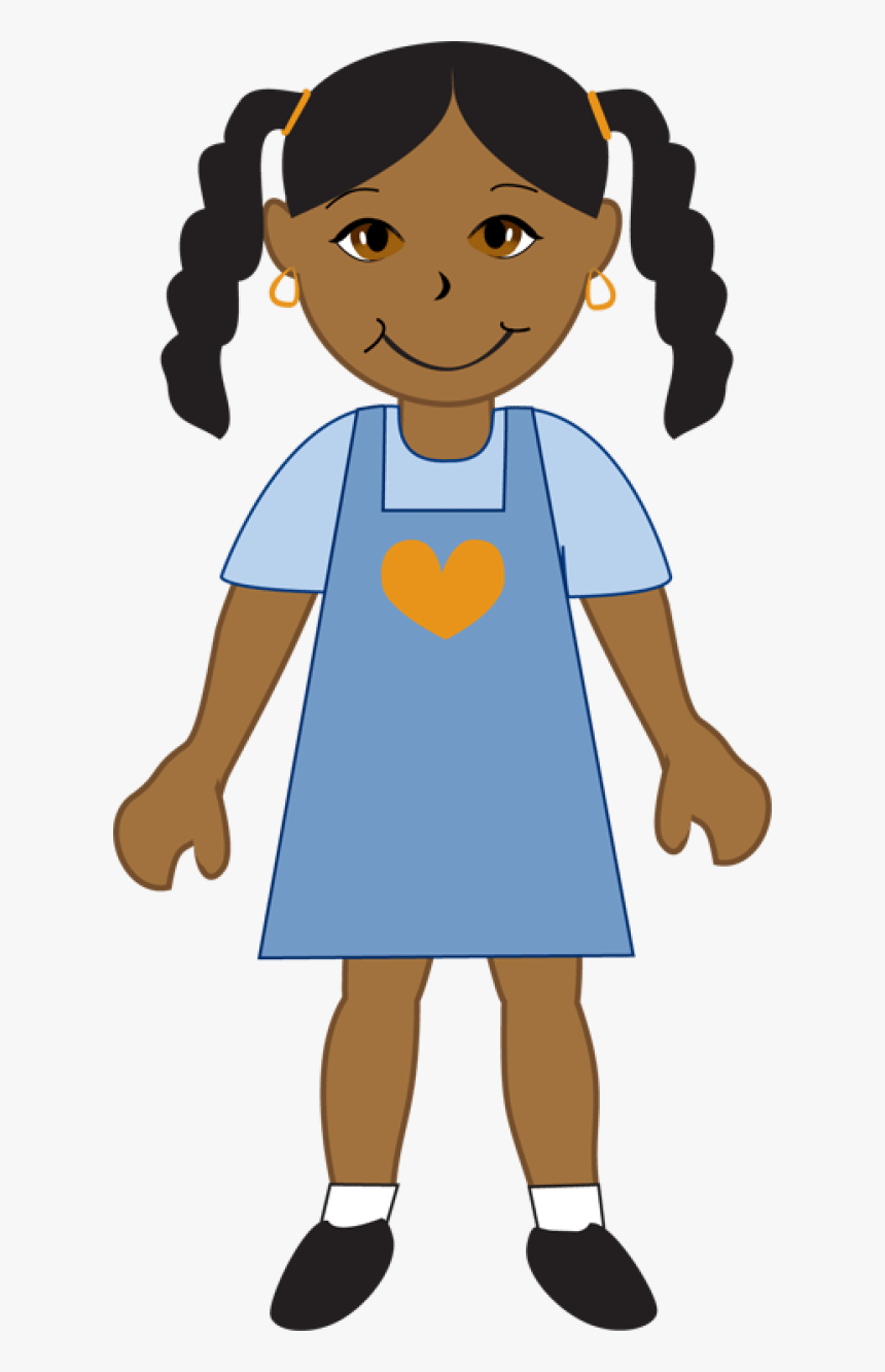African American Baby Clipart Free Download Best Black African American Girl Clip Art Hd Png Download Kindpng