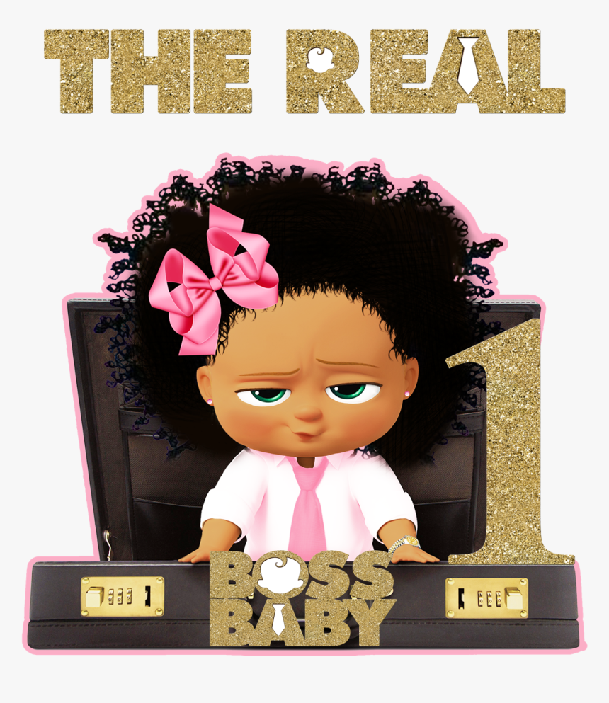 Custom Order Boss Baby Tutu Set Boss Baby African American Girl Hd Png Download Kindpng