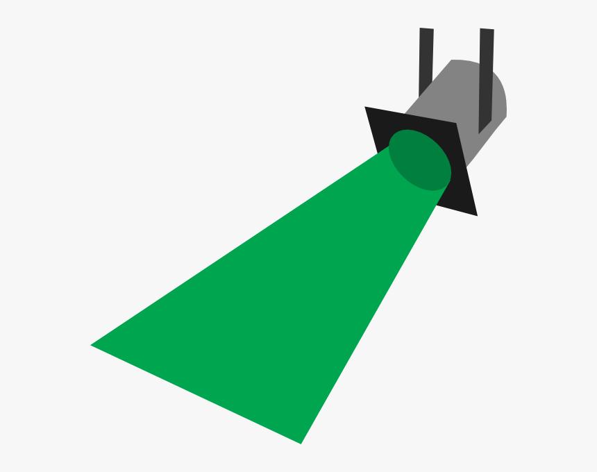 Green Spotlight Clipart - Strobe Light Clip Art, HD Png Download, Free Download