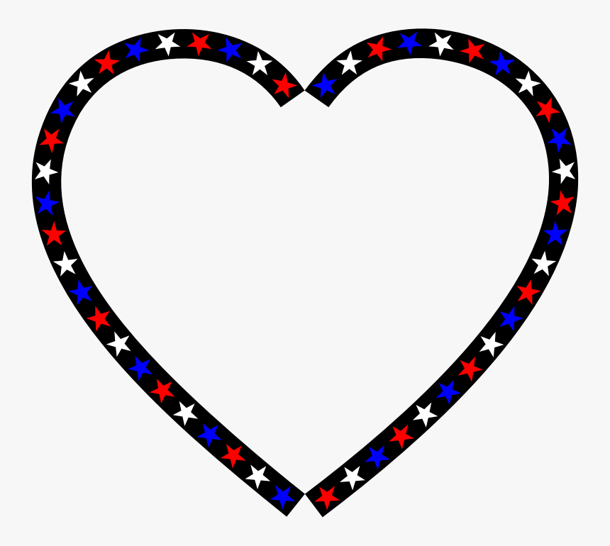 Red White Blue Hearts, HD Png Download, Free Download