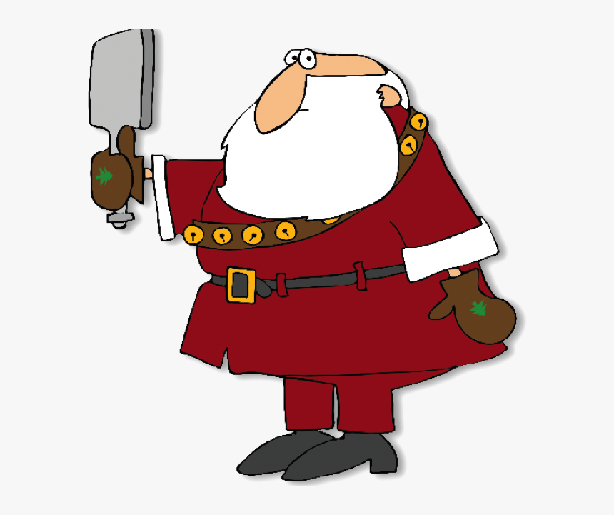 Santa Claus Is Coming To You December 2012 Psp - Cartoon, HD Png Download, Free Download