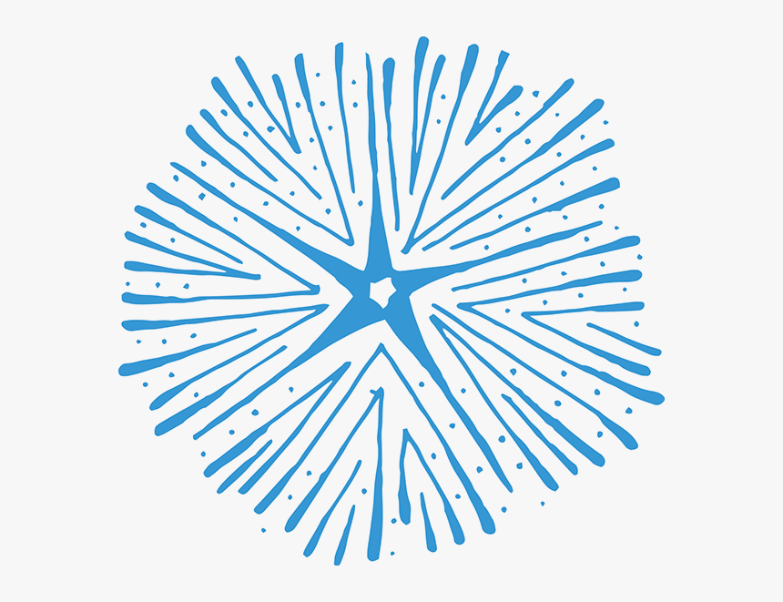 Blue Burst Png - Hand Drawn Rays Vector Png, Transparent Png, Free Download