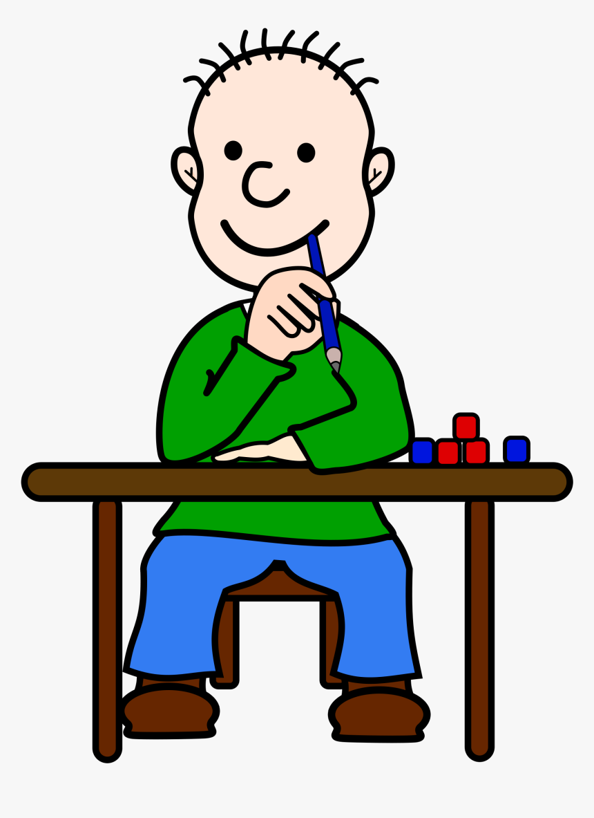 Kid Thinking Clipart Transparent, HD Png Download, Free Download