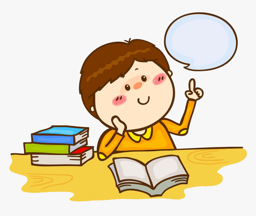 Royalty Free Stock Photography - Kid Thinking Clipart, HD Png Download, Free Download