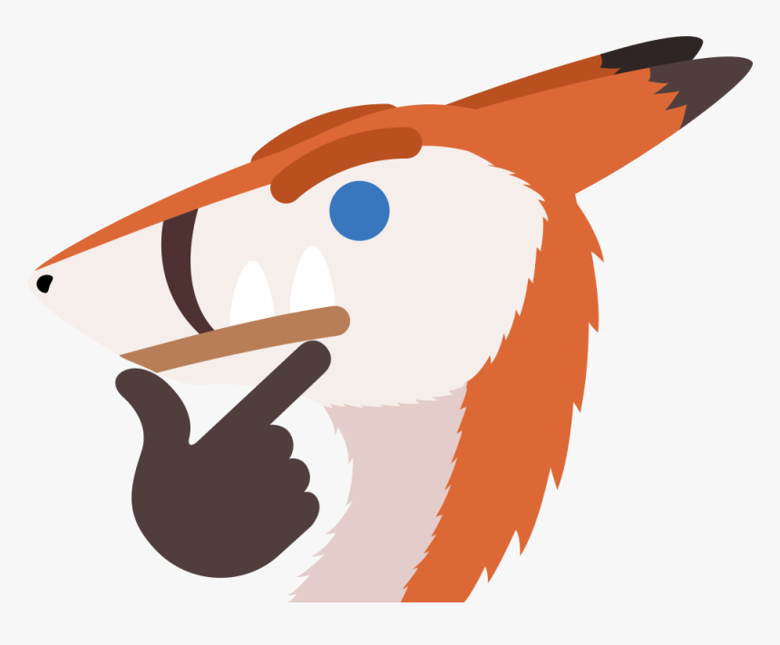 Thinking Sergal - Illustration, HD Png Download, Free Download
