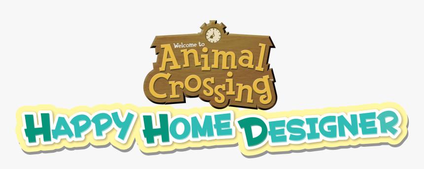 Animal Crossing Happy Home Designer Logo, HD Png Download, Free Download