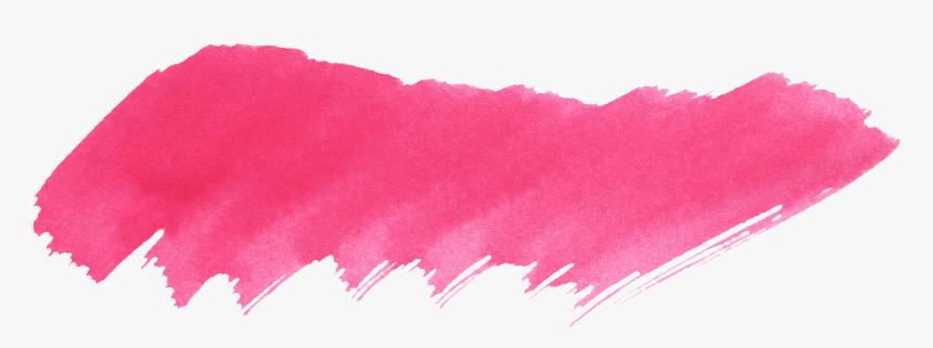 37 Red Watercolor Brush Stroke Vol - Watercolor Pink Brush Stroke Png, Transparent Png, Free Download