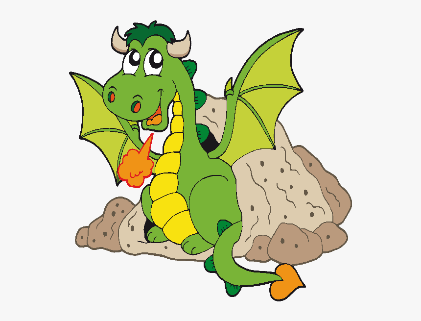 Funny Cartoon Dragon Clip Art Images Are On A Transparent Dragon Clipart For Kids Hd Png Download Kindpng