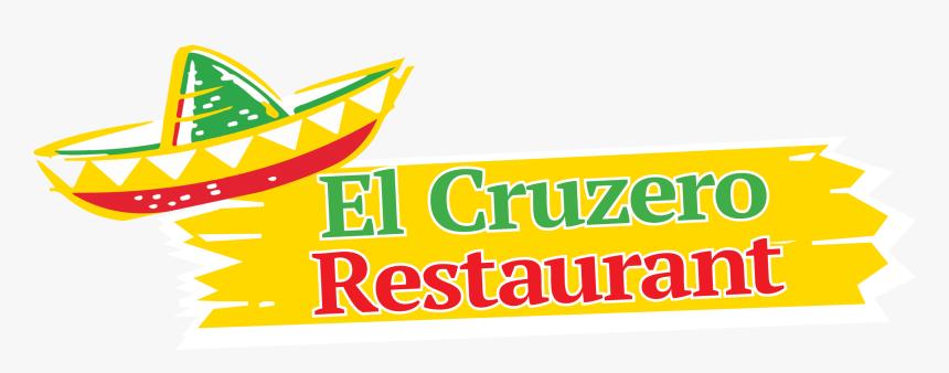 El Cruzero Restaurant - Graphic Design, HD Png Download, Free Download