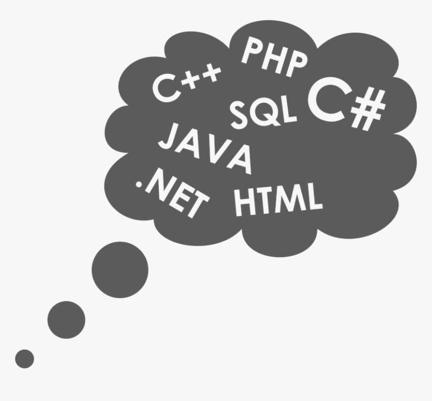 Cloud, Programmer, Programming Language, Programming - Paradigma De La Programacion, HD Png Download, Free Download