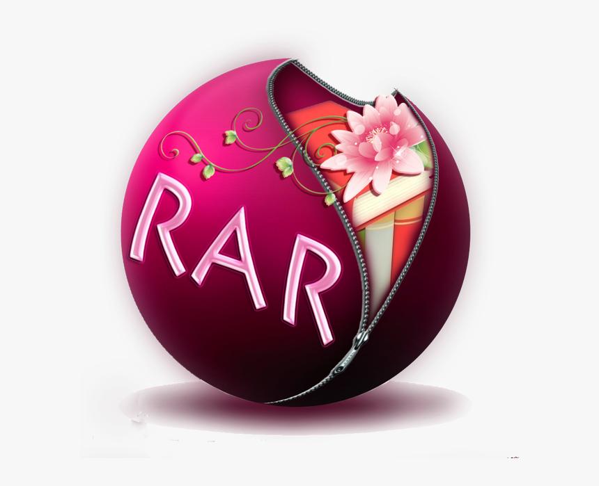 Transparent Winrar Logo Png - Floral Design, Png Download, Free Download