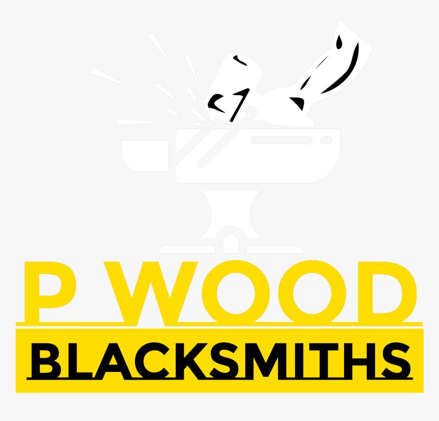 P Wood Blacksmiths - Graphic Design, HD Png Download, Free Download