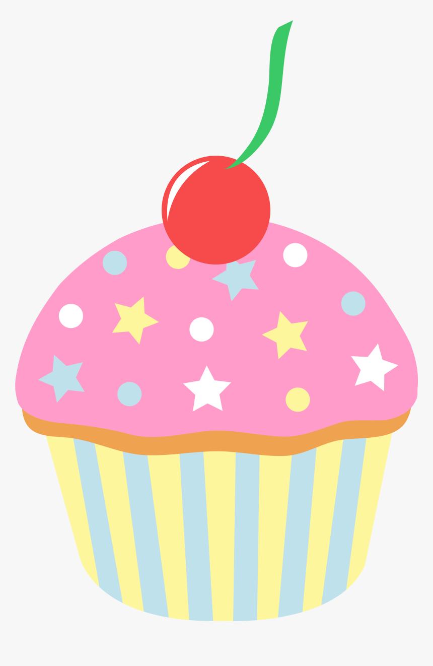 Transparent Free Cupcake Png - 5 Cupcakes Cartoon, Png ...