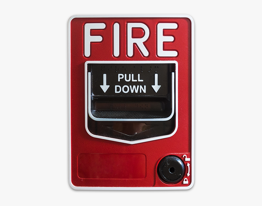 Fire Alarm Pull Station, HD Png Download, Free Download