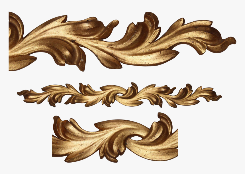 Rococo Ornaments Png, Transparent Png, Free Download
